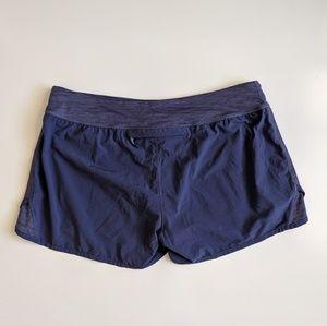lululemon athletica Shorts - Lululemon Wet Dry Warm Swim Run Purple Shorts